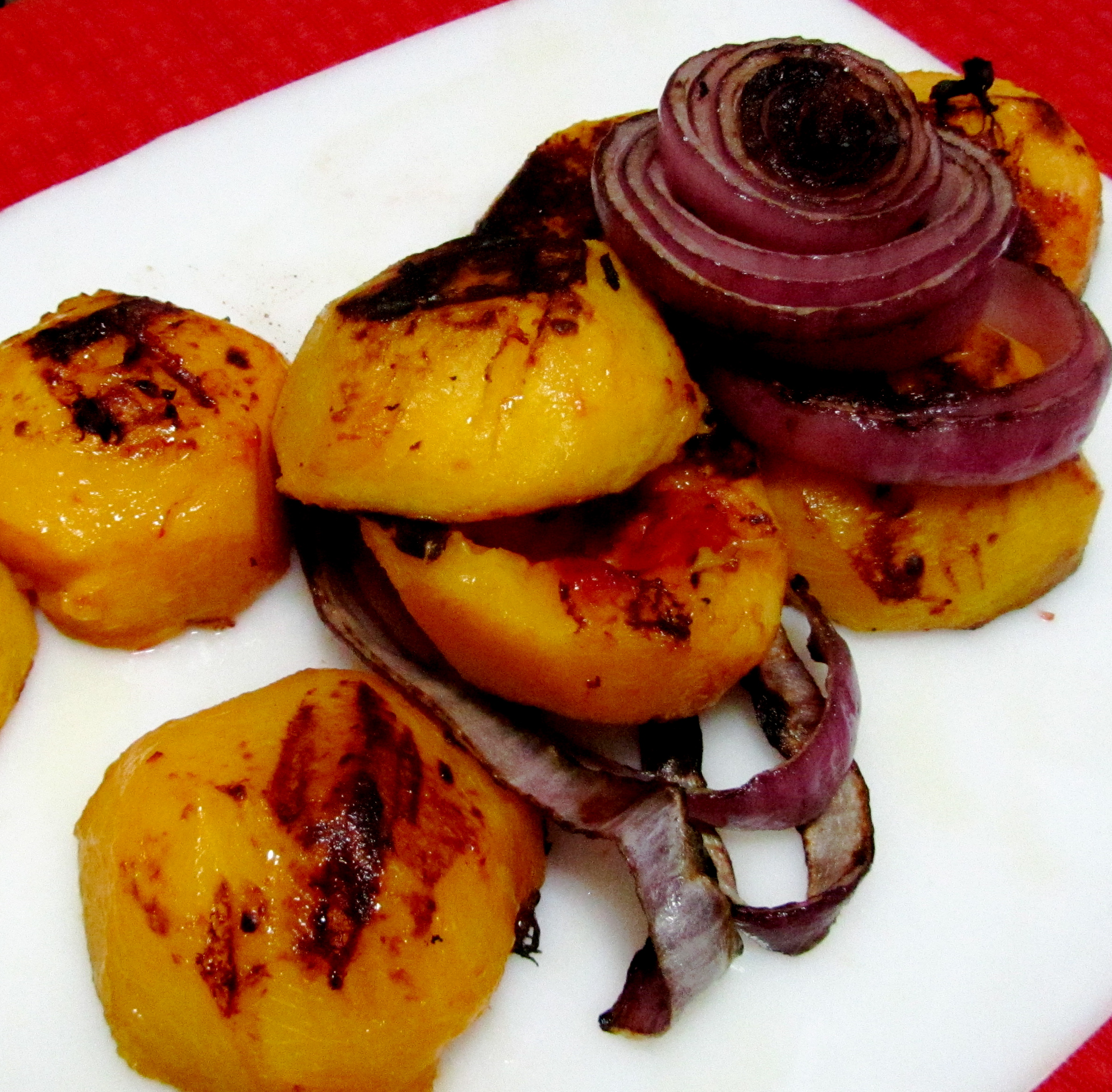 Nutrition Elevated – Fiery Grilled Peach and Habanero Salsa